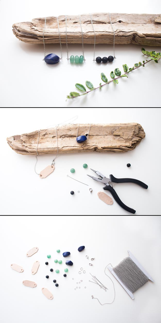 Cheap Crafts - DIY Diffuser Necklace - Inexpensive Craft Project Ideas for Teenagers, Teens and Adults - Easy DIY Ideas To Make On A Budget - Cool Dollar Store Crafts and Things You Can Make For Free - Homemade Wall Art and Room Decor, Gifts and Presents, Tutorials and Step by Step Instructions http://teencrafts.com/cheap-diy-crafts