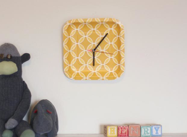Cheap Crafts - DIY Paper Plate Clock Tutorial - How to Make a Paper Plate Clock - Inexpensive Craft Project Ideas for Teenagers, Teens and Adults - Easy DIY Ideas To Make On A Budget - Cool Dollar Store Crafts and Things You Can Make For Free - Homemade Wall Art and Room Decor, Gifts and Presents, Tutorials and Step by Step Instructions #teencrafts #cheapcrafts #diyideas