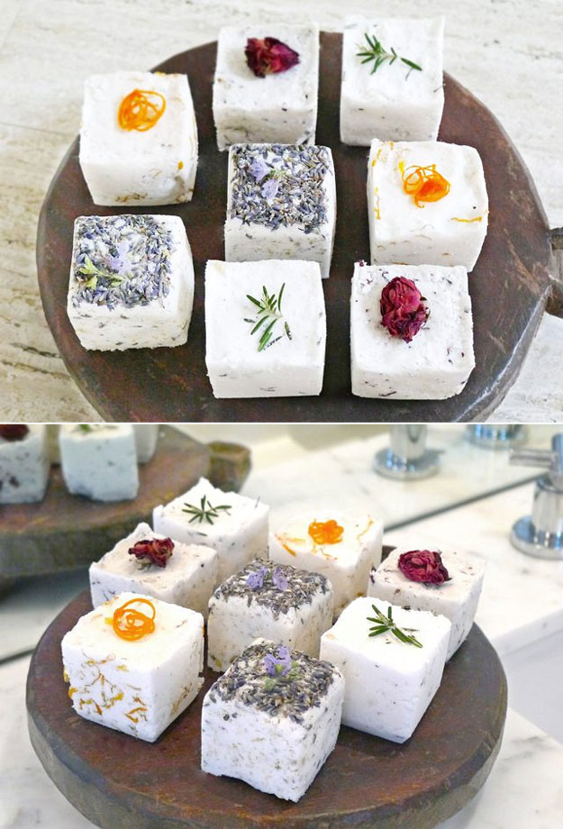 DYI Bath Bombs - How to Make Bath Bombs Without Citric Acid - Creative and Fun Bath Bombs to Make at Home - Cool Teen and Adult Crafts - Cheap DIY Gift Ideas - DIY Lush Recipes - Natural, Fizzy Bath Bomb Recipe #diychristmasgifts #bathbombtutorials