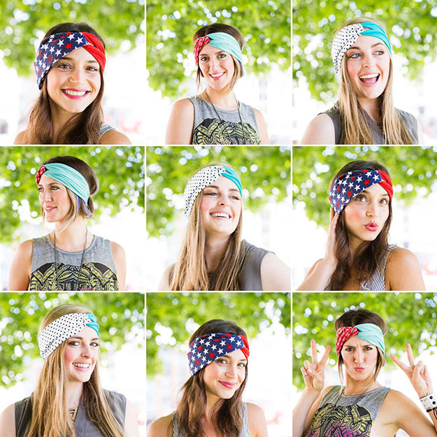 Crafts To Make and Sell For Teens - How to Make a Chic Turban Headband - Easy Craft Project Ideas To Make for Selling On Etsy and Online - Cool Ideas and DIY Ideas You Can Sell At Craft Fairs and on Ebay - Fun and Cheap Do It Yourself Projects for Teenagers to Make Extra Money This Summer http://teencrafts.com/crafts-to-make-and-sell-teens