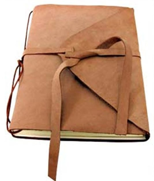 DIY Leather Crafts - How to Make a Leather Bound Notebook - Crossbody Bag, Wallet, Earrings and Jewelry Making, Projects from Scrap and Faux Leathers - Tutorials for Beginners and for Kids - Western Wear and Fashion, tips for Tools and Free Patterns - Cheap Clothing for Teens to Make - #teencrafts #leathercrafts #diyideas