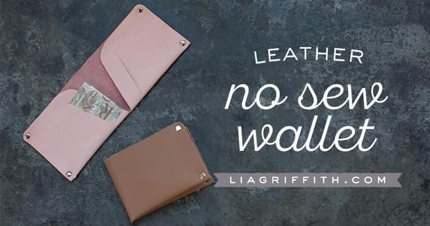 DIY Leather Crafts - How to Make a Leather Wallet - Crossbody Bag, Wallet, Earrings and Jewelry Making, Projects from Scrap and Faux Leathers - Tutorials for Beginners and for Kids - Western Wear and Fashion, tips for Tools and Free Patterns - Cheap Clothing for Teens to Make - #teencrafts #leathercrafts #diyideas