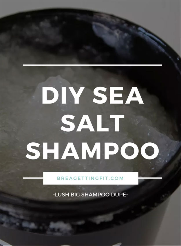 Lush Copycat Recipes - DIY Sea Salt Shampoo - DIY Lush Inspired Copycats and Dupes - How to Make Do It Yourself Lush Products like Homemade Bath Bombs, Face Masks, Lip Scrub, Bubble Bars, Dry Shampoo and Hair Conditioner, Shower Jelly, Lotion, Soap, Toner and Moisturizer. Tutorials Inspired by Ocean Salt, Buffy, Dark Angels, Rub Rub Rub, Big, Dream Cream and More. Teens and Teenager Crafts http://teencrafts.com/diy-lush-recipes-copycat