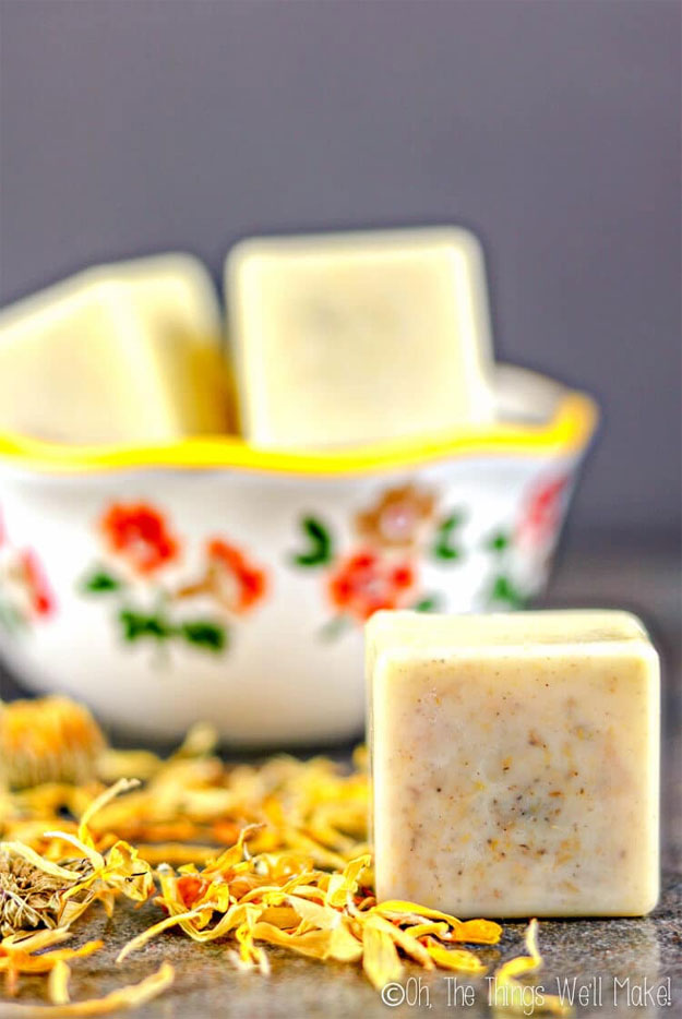 Lush Copycat Recipes - DIY Dandelion Lotion Bar Recipe - DIY Lush Inspired Copycats and Dupes - How to Make Do It Yourself Lush Products like Homemade Bath Bombs, Face Masks, Lip Scrub, Bubble Bars, Dry Shampoo and Hair Conditioner, Shower Jelly, Lotion, Soap, Toner and Moisturizer. Tutorials Inspired by Ocean Salt, Buffy, Dark Angels, Rub Rub Rub, Big, Dream Cream and More - Teens and Teenager Crafts #teencrafts #lush #diyideas