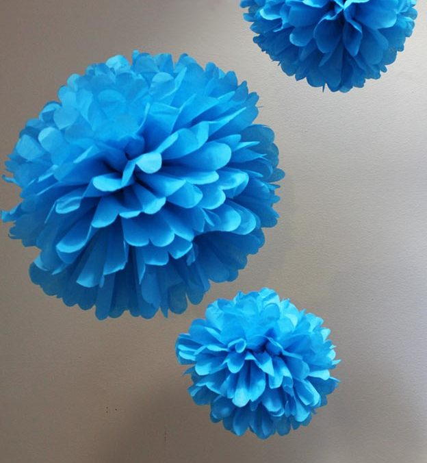 Pom Pom Crafts - Easiest Pom Pom DIY - Easy DIY Decor and Craft Ideas Made With Pom Poms - Homemade Room Decor for Teens and Adults - How to Make A Pom Pom Tutorial - Tissue Paper and Yarn Crafts to Make and Sell On Etsy #teencrafts #pompomcrafts #diyideas