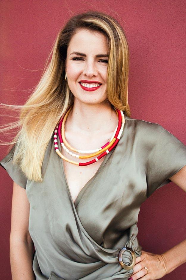 DIY Boho Fashion Ideas - DIY Boho Necklace Tutorial - How to Make A Boho Necklace - How to Make Your Own Boho Clothes, Sandals, Bag, Jewelry At Home - Boho Fashion Style - Cute and Easy DIY Boho Clothing, Clothes, Fashion - Homemade Bohemian Clothing #teencrafts #diyideas #diybohofashion #diybohoclothes