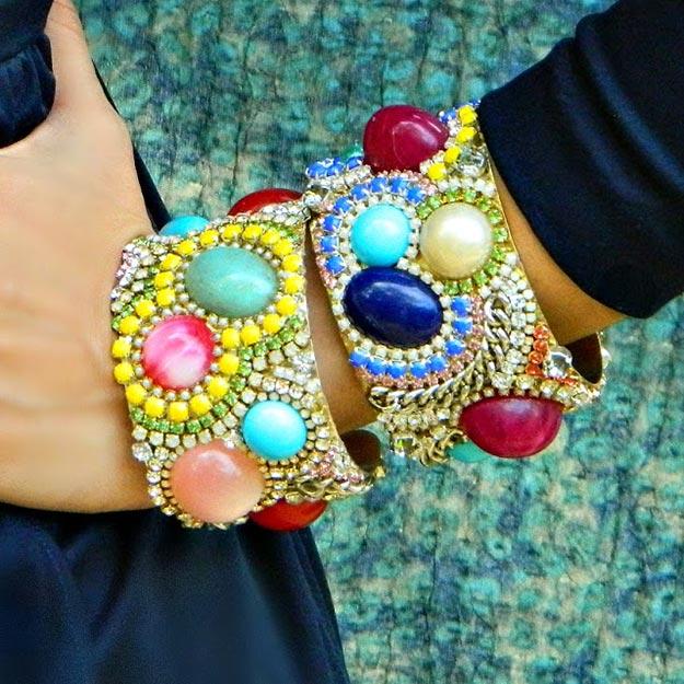 DIY Boho Fashion Ideas - DIY Boho Cuffs Tutorial - How to Make Boho Jewelry - How to Make Your Own Boho Clothes, Sandals, Bag, Jewelry At Home - Boho Fashion Style - Cute and Easy DIY Boho Clothing, Clothes, Fashion - Homemade Bohemian Clothing #teencrafts #diyideas #diybohofashion #diybohoclothes