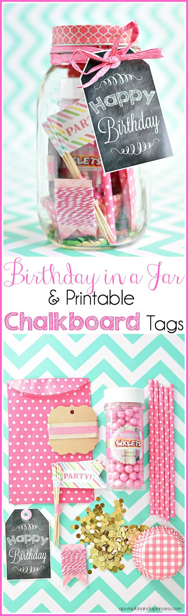 Cheap DIY Gifts to Make For Friends | DIY Birthday In A Jar | BFF Gift Ideas for Birthday, Christmas | Cool Crafts For Teens and Girls