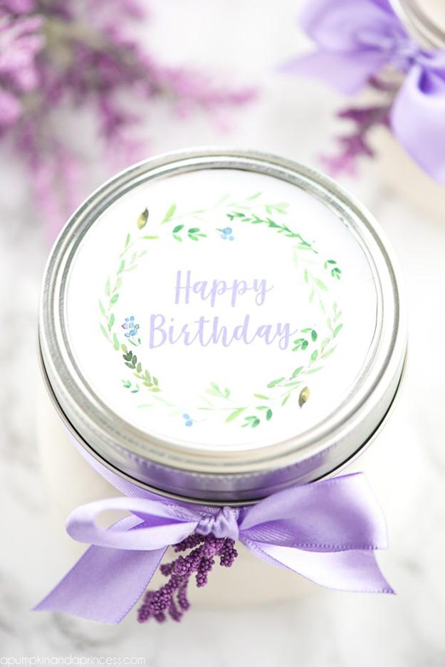 Cheap DIY Gifts to Make For Friends | DIY Lavender Candle | BFF Gift Ideas for Birthday, Christmas | Cool Crafts For Teens and Girls