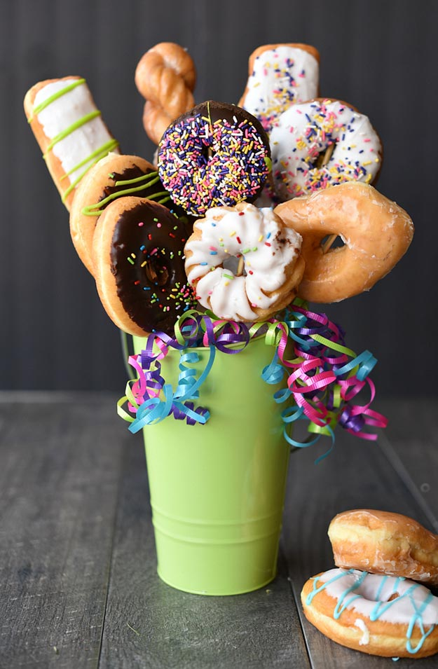 Cheap DIY Gifts to Make For Friends | DIY Donut Bouquet | BFF Gift Ideas for Birthday, Christmas | Cool Crafts For Teens and Girls