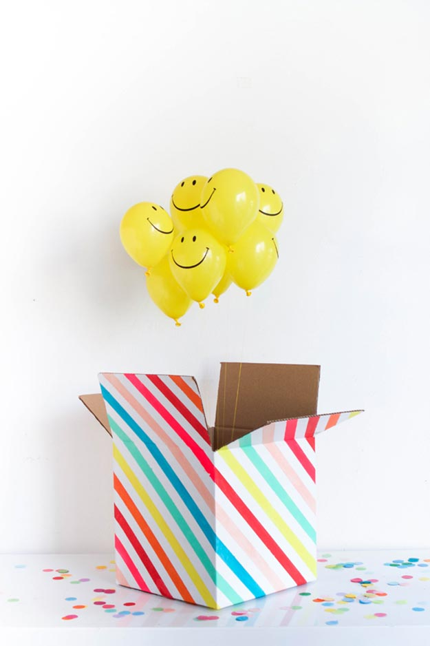 Cheap DIY Gifts to Make For Friends - DIY Mini Party in A Box Tutorial - BFF Gift Ideas for Birthday, Christmas - Last Minute Gifts for Friends - Cool Crafts For Teens and Girls #teencrafts #diyideas #giftideas