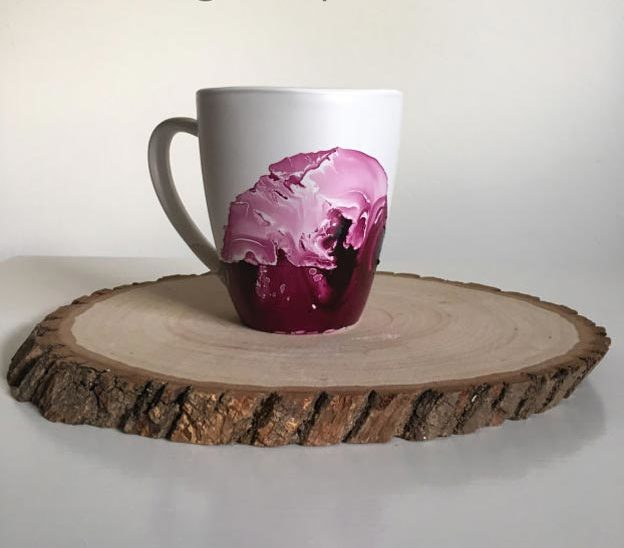 Easy Nail Polish Crafts - DIY Marble Mug Tutorial - How to Make A Marble Mug With Nail Polish - Easy Craft Projects With Nail Polish - Cheap Do It Yourself Gifts, Fun and Quick Art Ideas To Make for Free - Keys, Phone Case, Paintings, Jewelry, Shoes, Clothing, Accessories and Bedroom Decor Ideas - Creative Things for Teens To Make, Teenagers and Tweens - Cute Dorm Room Decor, Things To Make When You Are Bored #teencrafts #diyideas #cheapcrafts