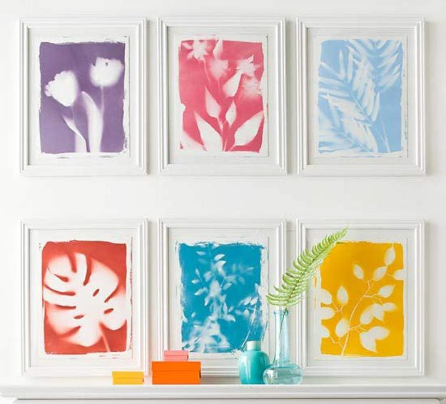 Cool Wall Art Ideas for Teens - Easy Wall Art Tutorial - DIY Botanical Print Tutorial - Cheap and Easy DIY Canvas Projects, Paintings and Arts and Crafts for Bedroom Walls - Inexpensive, Quick Project Tutorials for String Art, Crayon, Yarn, Paint Chip, Boho, Simple and Modern Decor for Teens, Teenagers and Tweens - Colorful and Creative Paint, Glue and Mod Podge Craft Idea #teencrafts #diyideas #roomdecor