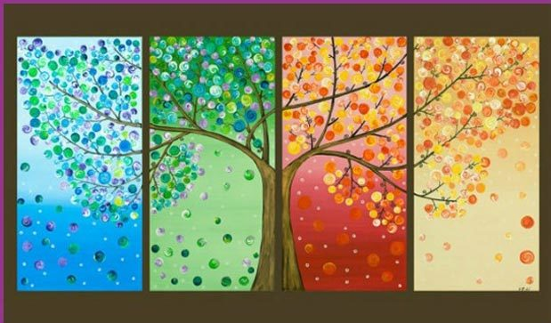 Cool Wall Art Ideas for Teens - DIY Button Wall Art - How to Make Wall Art - Cheap and Easy DIY Canvas Projects, Paintings and Arts and Crafts for Bedroom Walls - Inexpensive, Quick Project Tutorials for String Art, Crayon, Yarn, Paint Chip, Boho, Simple and Modern Decor for Teens, Teenagers and Tweens - Colorful and Creative Paint, Glue and Mod Podge Craft Idea #teencrafts #diyideas #roomdecor