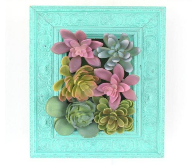 Dollar Store Crafts - DIY Succulent Wall Hanging Tutorial - How to Make A Succulent Wall Hanging - Easy DIY Dollar Tree Crafts - Cheap DIY Projects for Teenagers, Room, Decor, and Gifts - Dollar Tree Crafts to Make and Sell, at Home - Handmade Craft Ideas to Sell with Instructions and Tutorials - Easy Teen Crafts #teencrafts #diyideas #dollarstorecrafts