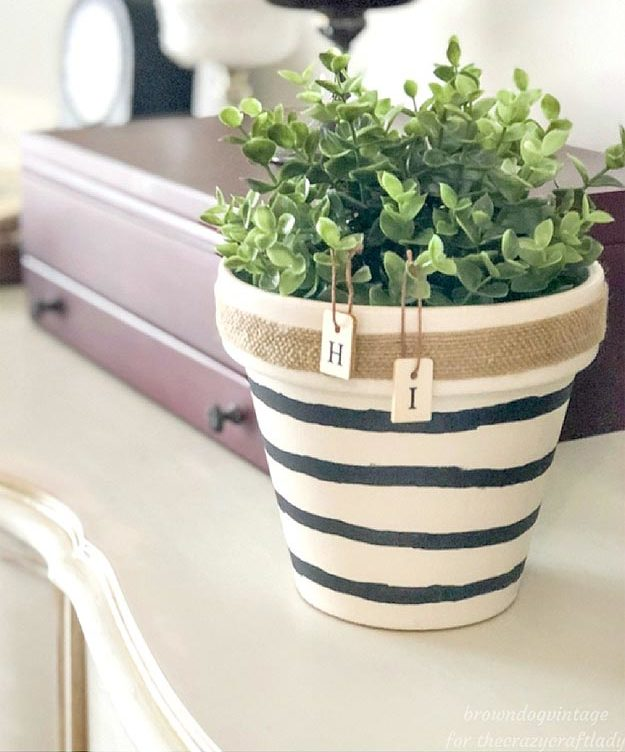 Dollar Store Crafts - DIY Dollar Store Planter Makeover Tutorial - How to Make A Planter from The Dollar Store - Easy DIY Dollar Tree Crafts - Cheap DIY Projects for Teenagers, Room, Decor, and Gifts - Dollar Tree Crafts to Make and Sell, at Home - Handmade Craft Ideas to Sell with Instructions and Tutorials - Easy Teen Crafts #teencrafts #diyideas #dollarstorecrafts