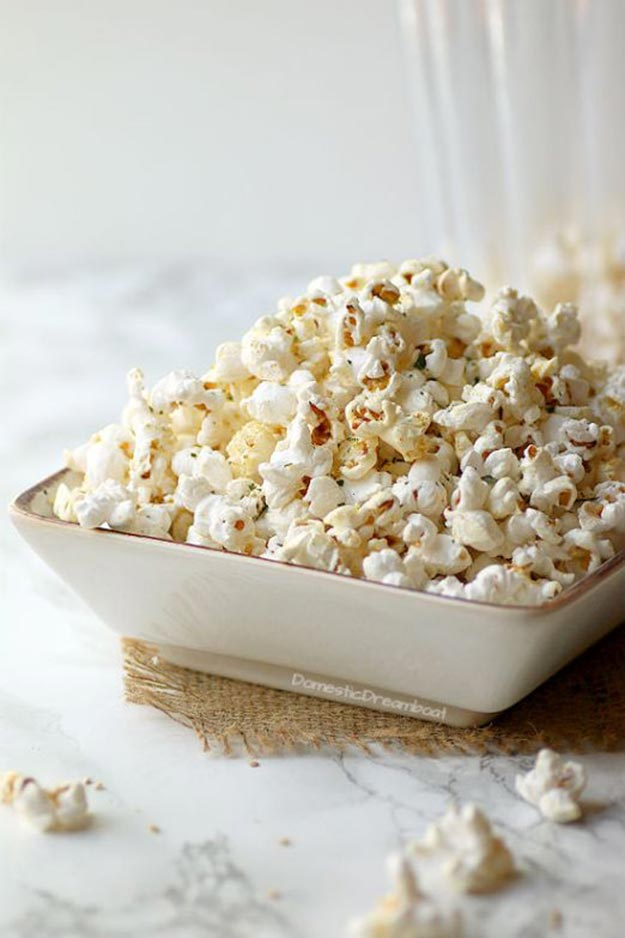 Easy Snacks and Recipes - Miso Butter Popcorn Recipe - Quick Recipe Ideas and Simple Food to Make In Minutes - Microwave, 3 Ingredients and No Bake Snack Tutorials - Healthy Ways for Snacking After School - Desserts, Sweet, Salty and Crunchy Ideas to Satisfy Your Cravings - Cheese, Vegetable, Mexican Food - Fun Ideas for Teens To Make At Home #teencrafts #diyideas #snackideas