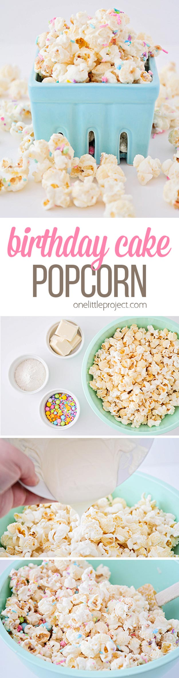 Cool and Easy Dessert Recipes For Teens to Make at Home - Birthday Cake Popcorn - Fun Desserts to Make With Chocolate, Fruit, Whipped Cream, Low Sugar, and Banana - Cake, Cookiess, Pie, Ice Cream Shakes and Pops Made With Healthy Ingredients and Food You Love - Quick Recipe Ideas for No Bake and 5 Minute Dessert At Home http://teencrafts.com/fun-dessert-ideas-recipes