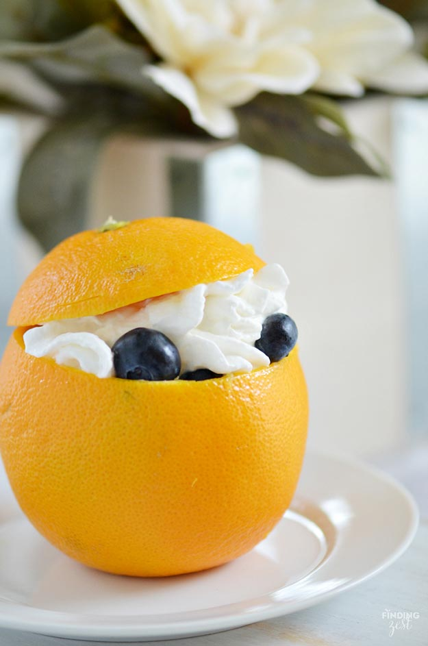 Cool and Easy Dessert Recipes For Teens to Make at Home - Orange Dessert Cups - Fun Desserts to Make With Chocolate, Fruit, Whipped Cream, Low Sugar, and Banana - Cake, Cookiess, Pie, Ice Cream Shakes and Pops Made With Healthy Ingredients and Food You Love - Quick Recipe Ideas for No Bake and 5 Minute Dessert At Home http://teencrafts.com/fun-dessert-ideas-recipes
