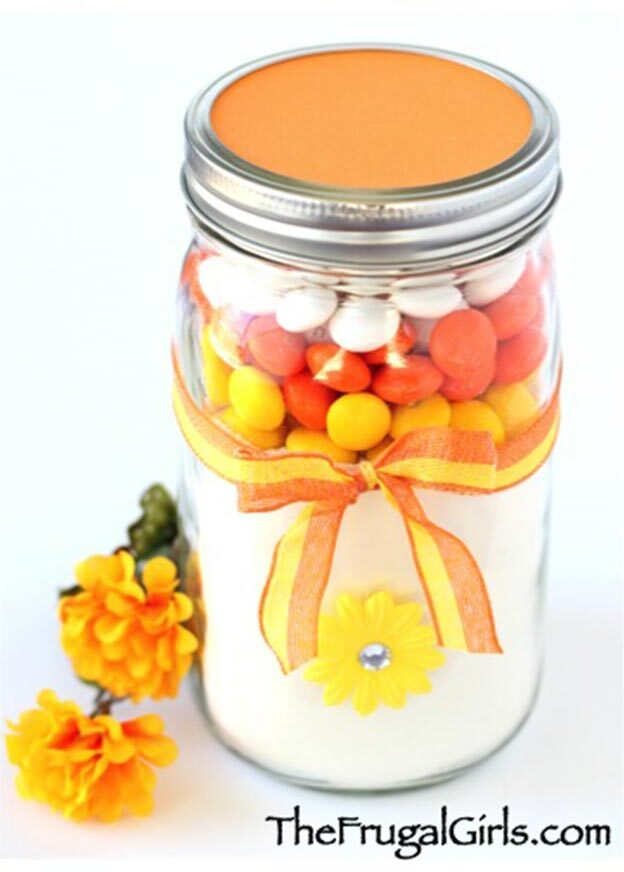 DIY Gifts for Teens and Adults - How to Make a Candy Gift Jar - Creative Gifts in a Jar - Mason Jar Gifts for Friends, Boyfriend, Bestfriend, Brother, Dad - DIY Gift Ideas - Handmade Gift Ideas - Step by Step Craft Tutorials