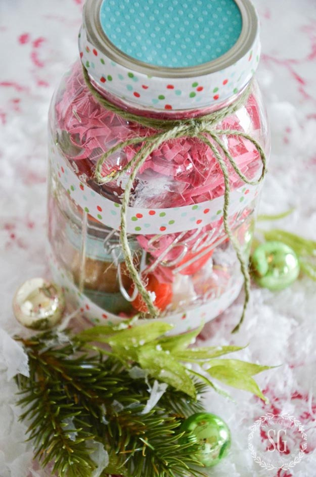 Gifts in A Jar Ideas, Recipes - Gifts for Tea Lovers - Inexpensive Gifts You Can Make For Friends and Neighbors - Gift Jars for Christmas, Teachers - Cute Gift Ideas in Mason Jars - What to Put in Jar as A Gift - Cheap and Easy Gifts