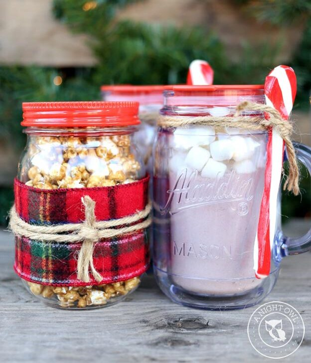 DIY Gifts for Teens and Adults - Mason Jar Snack Gift Idea - Creative Gifts in a Jar - Mason Jar Gifts for Friends, Boyfriend, Bestfriend, Brother, Dad - DIY Gift Ideas - Handmade Gift Ideas - Step by Step Craft Tutorials