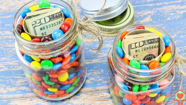 DIY Gifts for Teens and Adults - How to Make a Hidden Gift Jar - Creative Gifts in a Jar - Mason Jar Gifts for Friends, Boyfriend, Bestfriend, Brother, Dad - DIY Gift Ideas - Handmade Gift Ideas - Step by Step Craft Tutorials