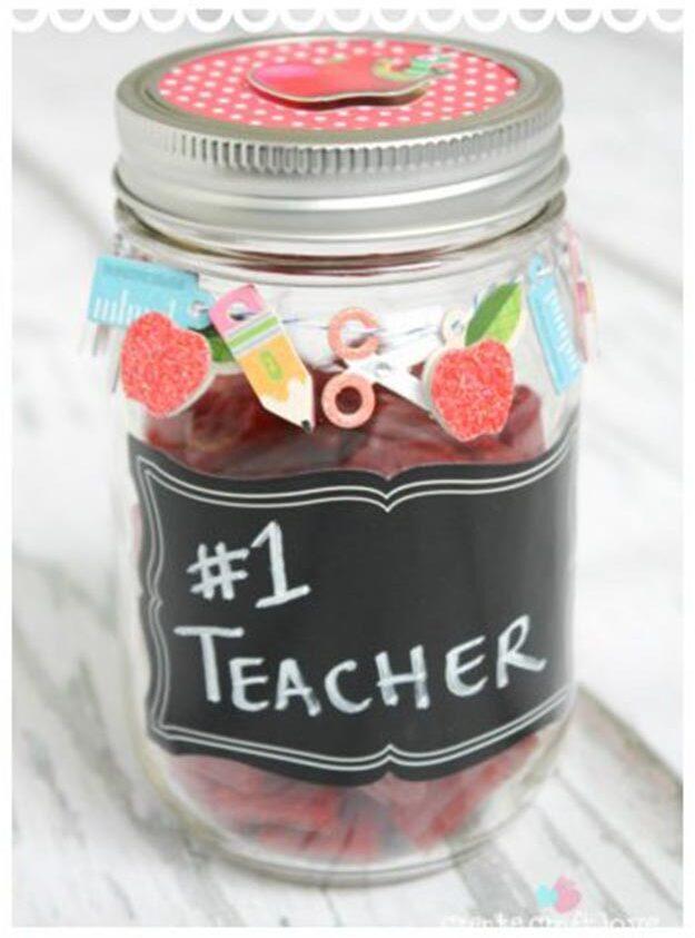 DIY Gifts for Teens and Adults - Teacher Mason Jar Gift Idea - Creative Gifts in a Jar - Mason Jar Gifts for Friends, Boyfriend, Bestfriend, Brother, Dad - DIY Gift Ideas - Handmade Gift Ideas - Step by Step Craft Tutorials