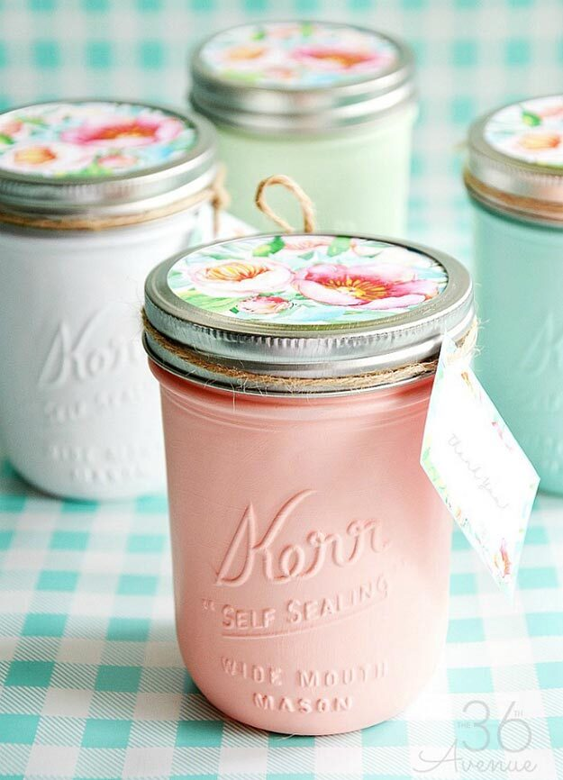 Jar Gift Ideas - How to Decorate Mason Jars - Food, Cookie, Birthday Gifts in A Jar Ideas - Easy and Quick Last Minute Gift Ideas for Hostess - Simple Gift ideas to Make for A Teenager - Gifts in A Jar Recipes - Easy Teen Crafts - Mason Jar Gifts For Friends