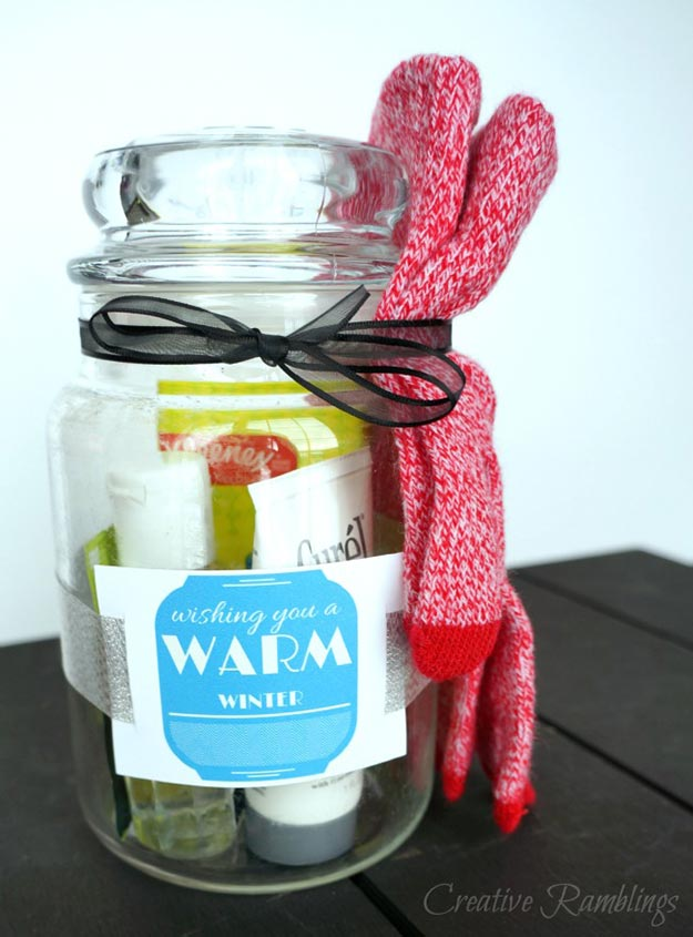 DIY Gifts for Teens and Adults - Cheap Winter Themed Gifts - Creative Gifts in a Jar - Mason Jar Gifts for Friends, Boyfriend, Bestfriend, Brother, Dad - DIY Gift Ideas - Handmade Gift Ideas - Step by Step Craft Tutorials