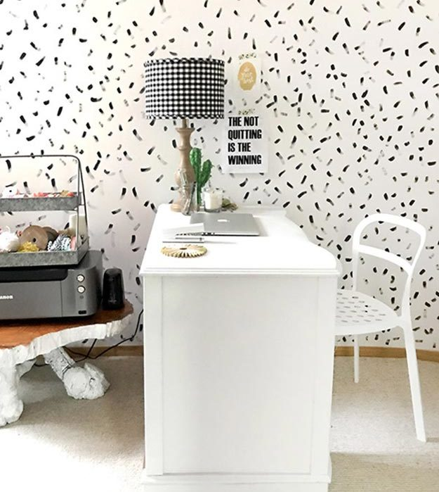 Painting Ideas for Room - How to Create A Brushstroke Painted Wall - DIY Brushstroke Painted Wall Tutorial - Easy Painting Ideas for Walls - Ways to Paint Walls - Wall Paint Inspiration - Teen Room Decor Ideas #teencrafts #paintwalls #diyideas