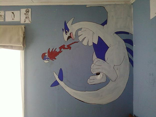 Painting Ideas for Room - DIY Wall Mural Tutorial - Easy Painting Ideas for Walls - Ways to Paint Walls - Wall Paint Inspiration - Teen Room Decor Ideas #teencrafts #paintwalls #diyideas