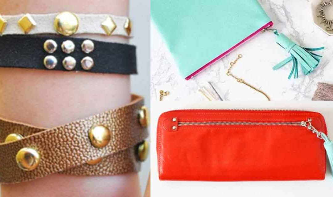Easy DIY Ideas with Leather