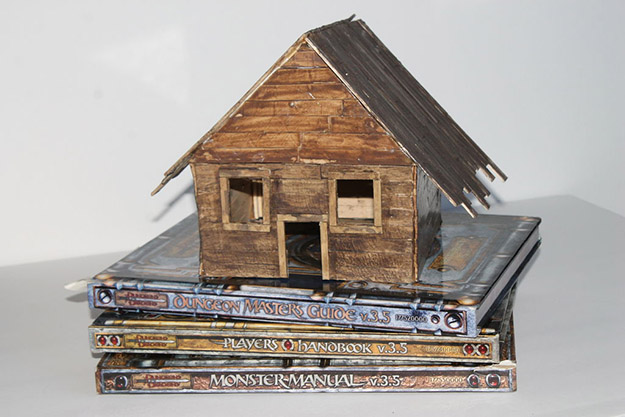 Popsicle Stick Crafts for Adults Step by Step - How to Make A Popsicle Stick House - DIY Popsicle Stick House Tutorial - Popsicle Stick Crafts for Kids, Adults, Teens, Kindergarteners - Cool, Useful Popsicle Stick Crafts - Cheap DIY Craft Ideas to Make and Sell - Dollar Store Craft Ideas - DIY Projects for Teens #teencraftideas #cheapcraftideas #diy