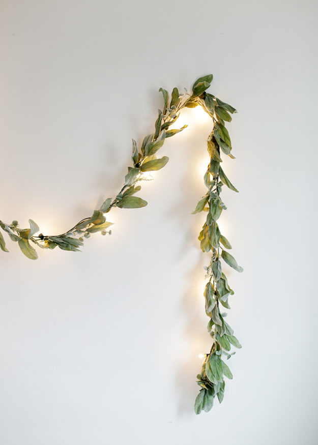 DIY Ideas With String Lights - DIY Greenery Globe Light Garland Tutorial - How to Make a String Light Garland - Easy, Fun, Cool Decor To Make With String Lights - Cheap Room Decor Ideas for Teens, Fun Apartment Lighting Projects and Creative Ways to Decorate Your Bedroom - How To Decorate Teens and Teenagers Bedrooms #teencrafts #diyideas #stringlights