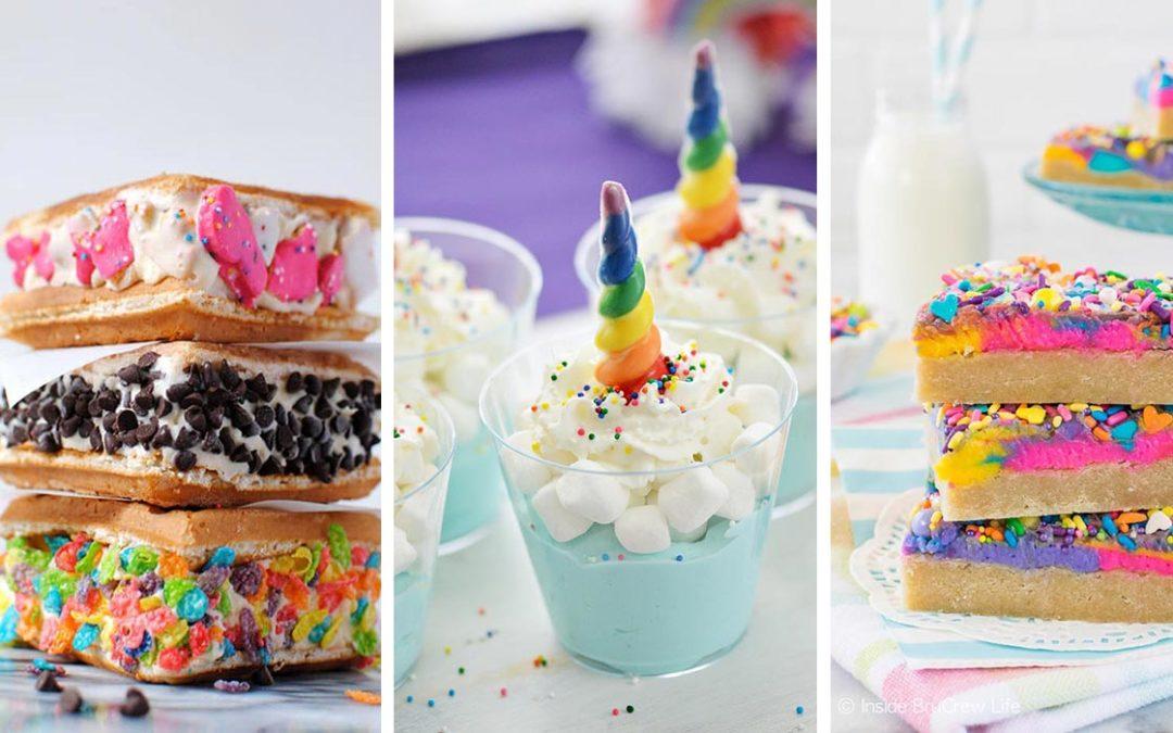 30 Fun Dessert Ideas