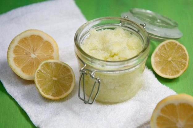 Lush Copycat Recipes - DIY Citrus Coconut Sea Salt Scrub Recipe - How to Make Sea Salt Scrub - DIY Lush Inspired Copycats and Dupes - How to Make Do It Yourself Lush Products like Homemade Bath Bombs, Face Masks, Lip Scrub, Bubble Bars, Dry Shampoo and Hair Conditioner, Shower Jelly, Lotion, Soap, Toner and Moisturizer. Tutorials Inspired by Ocean Salt, Buffy, Dark Angels, Rub Rub Rub, Big, Dream Cream and More - Teens and Teenager Crafts #teencrafts #lush #diyideas