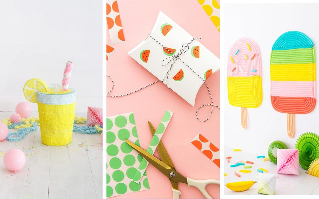 DIY Ideas for Summer - Fun Crafts for Summertime DIY Ideas