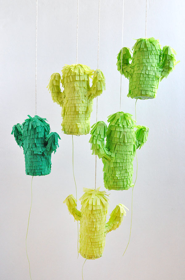 DIY Ideas for Summer - DIY Mini Cactus Pinatas Tutorial - How to Make Cute Pinatas - Cute Summery Crafts to Make and Sell - DIY Summer Crafts, Projects, Decor for Kids, Tweens, Teens, Adults, Seniors - Ideas to Make for Lake, Pool, Outdoors - Creative Things to Make for Summertime - Teen Crafts and DIY Projects #teencrafts #diyideas #craftideasforsummer