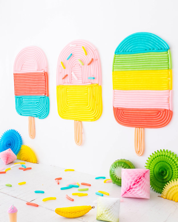 DIY Ideas for Summer - DIY Popsicle Balloon Wall Tutorial - How to Make A Balloon Wall - Cute Summery Crafts to Make and Sell - DIY Summer Crafts, Projects, Decor for Kids, Tweens, Teens, Adults, Seniors - Ideas to Make for Lake, Pool, Outdoors - Creative Things to Make for Summertime - Teen Crafts and DIY Projects #teencrafts #diyideas #craftideasforsummer