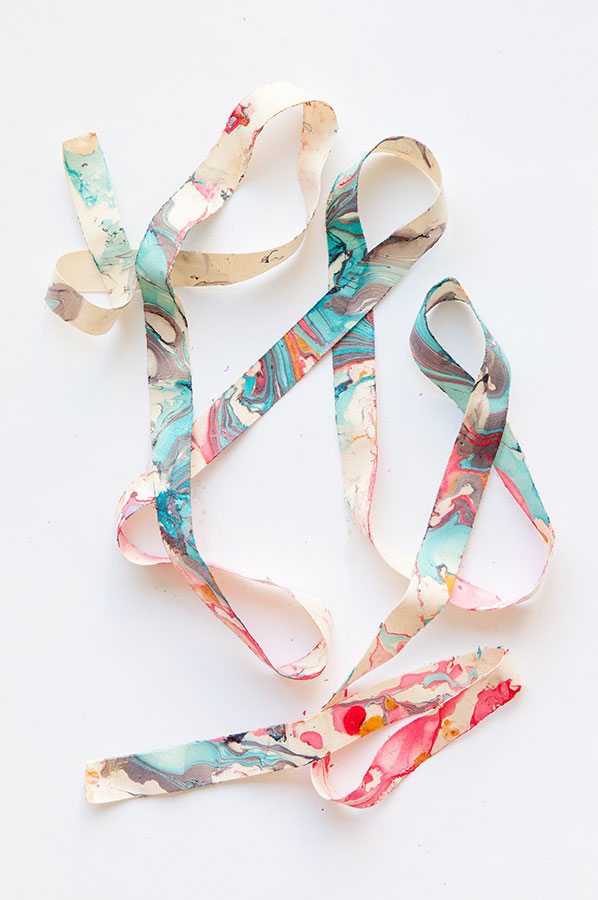 Easy Nail Polish Crafts - DIY Marbleized Ribbon Tutorial - How to Make Marbleized Ribbon - Easy Craft Projects With Nail Polish - Cheap Do It Yourself Gifts, Fun and Quick Art Ideas To Make for Free - Keys, Phone Case, Paintings, Jewelry, Shoes, Clothing, Accessories and Bedroom Decor Ideas - Creative Things for Teens To Make, Teenagers and Tweens - Cute Dorm Room Decor, Things To Make When You Are Bored #teencrafts #diyideas #cheapcrafts