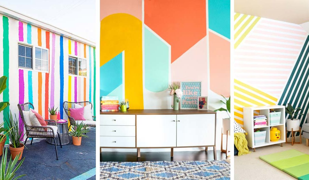 Cool Painting Ideas for Walls - Easy Ways to Paint Walls in Room - DIY Wall Painting Projects for Room
