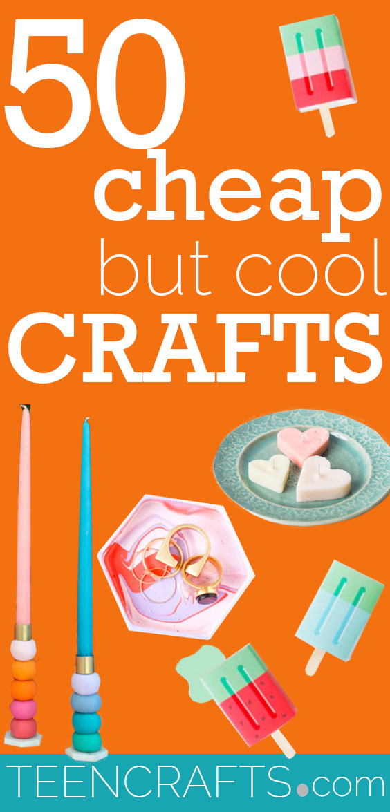Cheap Crafts For Teens - Cool Craft Ideas and Inexpensive DIY Projects - Handmade Gifts and Room Decor