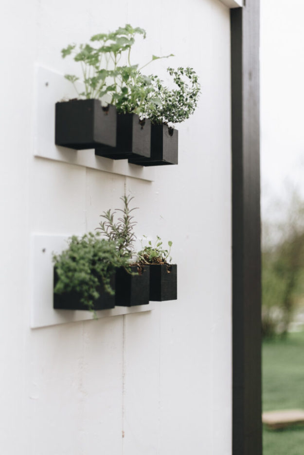 Dollar Store Crafts - DIY Hanging Herb Garden Tutorial - How to Make A Hanging Herb Garden - Easy DIY Dollar Tree Crafts - Cheap DIY Projects for Teenagers, Room, Decor, and Gifts - Dollar Tree Crafts to Make and Sell, at Home - Handmade Craft Ideas to Sell with Instructions and Tutorials - Easy Teen Crafts #teencrafts #diyideas #dollarstorecrafts