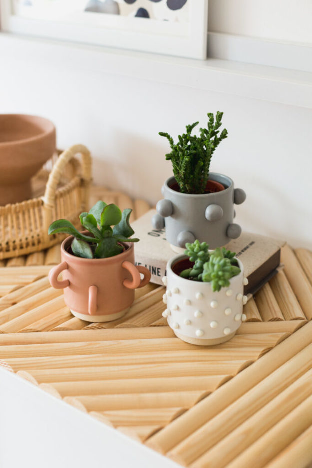 Dollar Store Crafts - DIY Easy Planter Makeover Tutorial - How to Make a Cute Planter - Easy DIY Dollar Tree Crafts - Cheap DIY Projects for Teenagers, Room, Decor, and Gifts - Dollar Tree Crafts to Make and Sell, at Home - Handmade Craft Ideas to Sell with Instructions and Tutorials - Easy Teen Crafts #teencrafts #diyideas #dollarstorecrafts