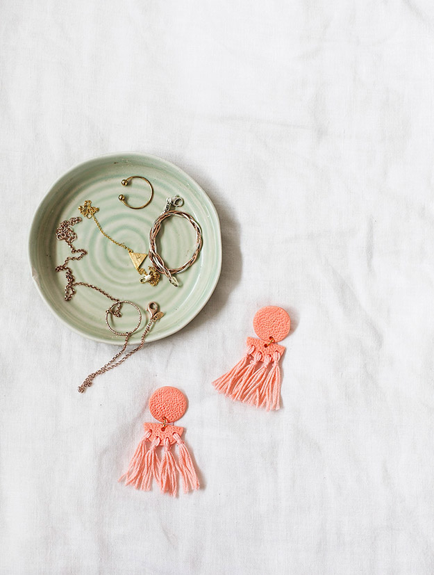 DIY Jewelry Ideas - DIY Statement Tassel Earrings Tutorial - How to Make Tassel Earrings - How to Make Your Own Jewelry - Jewelry Making Ideas for Beginners - Handmade Craft Ideas to Sell with Step by Step Instructions  - Easy Teen Crafts #teencrafts #diyideas #diyjewelry