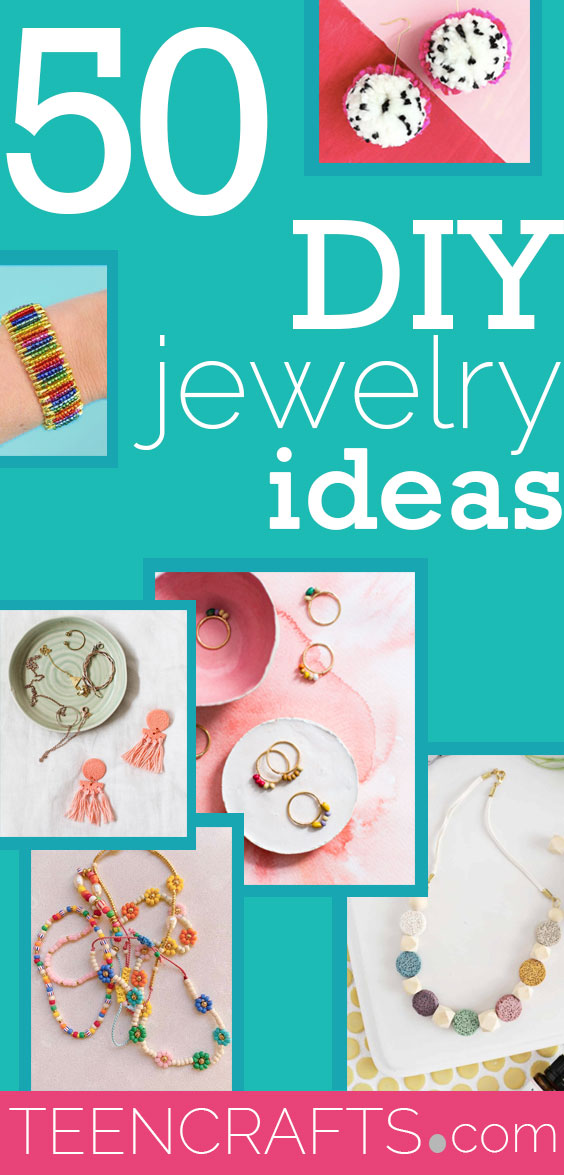 DIY Jewelry Ideas - Jewelry Making Projects With Step by Step Tutorial - Instructions for Ring, Necklace, Bracelet, Earrings