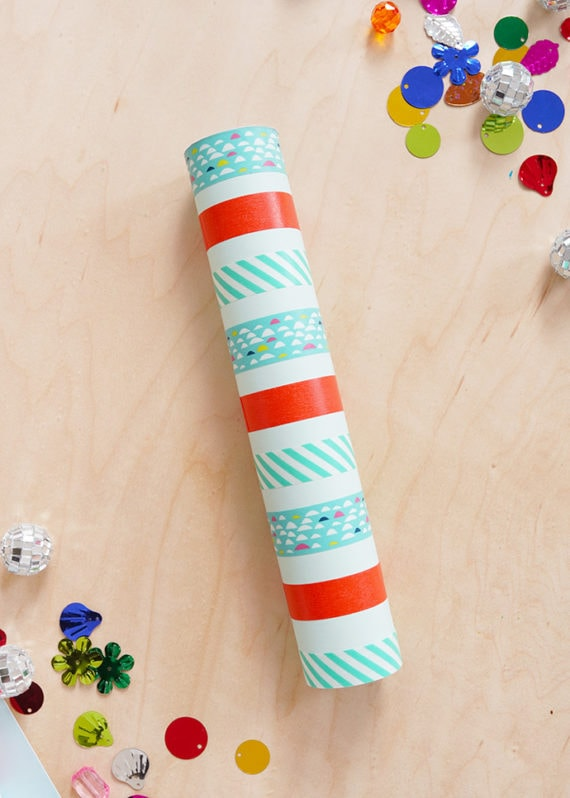 Washi Tape Crafts - DIY Washi Tape Kaleidoscope Tutorial - How to Make Kaleidoscope - Simple, Easy DIY Ideas To Make With Washi Tape - Organizers, Cute Gifts, Cheap Wall Art, Fun and Quick Things To Make For Friends - Cute Ideas for Teens, Adults, Kids and Tweens to Make at Home #teencrafts #diyideas #washitapecrafts